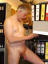Naked, Work, At work