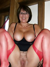 Mature stockings, Cougar, Mature stocking, Cougars