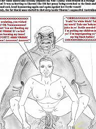 Interracial cartoon, Cuckold cartoon, Cuckold