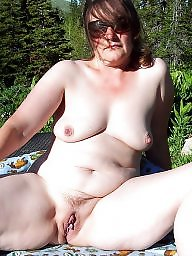 Mature pussy, Chubby