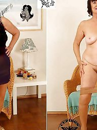 Mature dressed undressed, Mature dress, Dress, Dressed