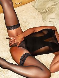 Ebony, Lingerie, Black