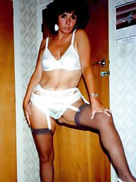 Vintage stockings, Vintage milf, Stocking milf