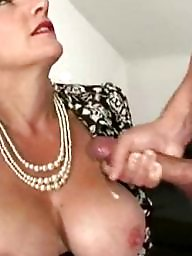Lady sonia, Lady, Cum on, Old, Facials, Cum facial