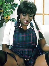 Ebony, Vintage, Spreading, Black