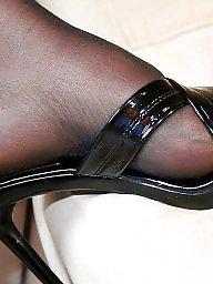 Milf feet, Stocking milf, Stocking feet