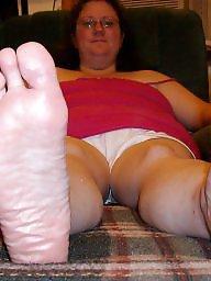 Feet, Fat, My wife, Bbw feet