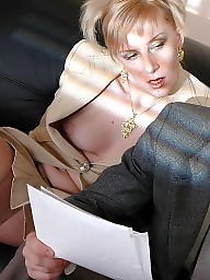 Milf boy, Secretary, Mature boy, Mature stocking, Boy, Mature secretary