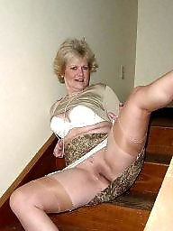 mature stockings amateur