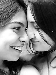 Lesbians, Lesbian, Kissing, Kiss
