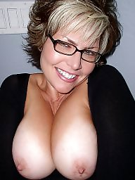 Amateur mature, Mature boobs