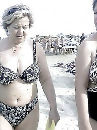 Mature beach, Granny beach, Granny, Busty mature, Busty granny, Beach granny