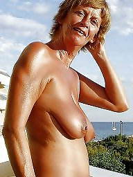 Mature beach, Skinny mature, Saggy, Beach, Skinny, Saggy mature