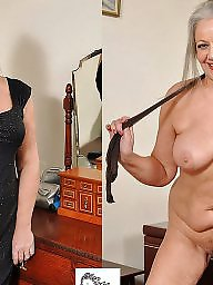 Milf dressed undressed, Mature dressed undressed, Dress, Undressed, Mature dress