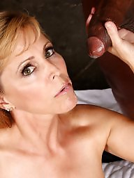 Mature facial, Mature facials, Interracial, Black, Mature, Facials
