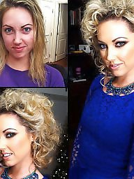 Porn funny, Makeups, Makeupe, Before,after, Before&after, Before and after