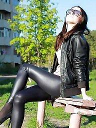 Leggings, Legs, High heels, Teen leggings, Heels