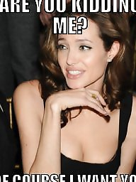 Celebrity caption, Celebrity captions, Caption, Angelina jolie
