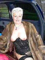 Car, Bbw granny, Granny fuck, Granny