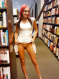 Library, Public, Public nudity
