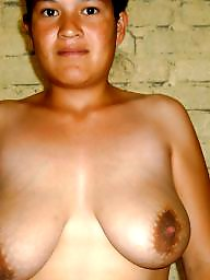 Mexican, Mature boobs