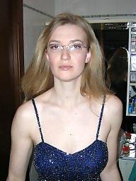 Amateur facial, Glass, Glasses