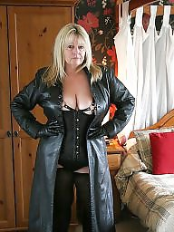 Mature leather, Amateur boots, Boots, Bbw boots, Leather, Bbw leather