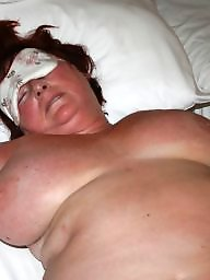 Curvy, Curvy mature, Blindfolded, Big boobs mature, Blindfold, Mature curvy