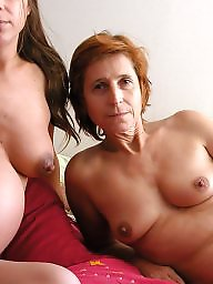 Pregnant, Young amateur, Young, Old, Mother, Old young