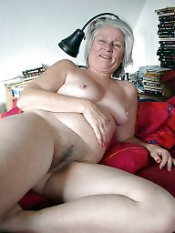 Granny, Granny boobs, Hairy granny