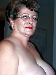 Granny, Granny big tits, Granny tits, Mature big tits