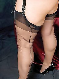 Mature, Nylons, Stockings, Nylon, Vintage, Mature stockings