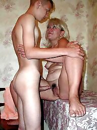 Moms, Mom, Young amateur, Mom boy, Mom and boy, Old and young
