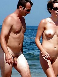 Nude beach, Nude couples