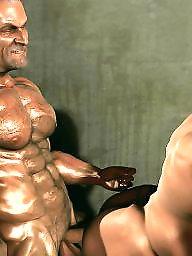 X-man, X- man, Muscleć, Muscled, Muscle cartoon, Manning