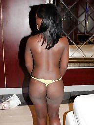 Ebony tits, Ebony amateur, Stripper