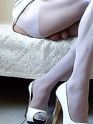 Amateur pantyhose, White stockings, Pantyhose mature, Mature stockings, Mature pantyhose