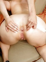 big mature spread Ass