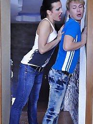 Strapon jeans, Jeansü