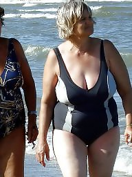 Mature beach, Granny, Granny boobs, Granny beach, Grannies