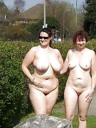Flashing, Outdoor, Flash, Voyeur, Naked