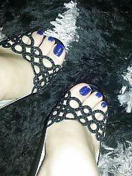 Feet, Amateur wife