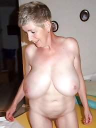 Mature granny big nipples
