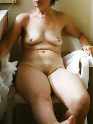 My wife, Mature tits