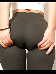 Yoga pants, Butt, Big ass, Big booty