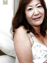 Asian granny, Mature asian, Hairy granny