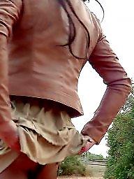Skirt, Mature stockings