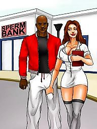 Interracial cartoons, Interracial cartoon, Cartoon interracial, Cartoons, Cartoon, Sperm