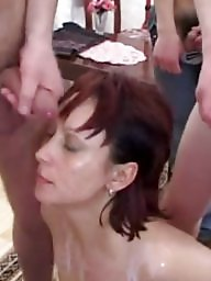 Russian, Russian milf, Old young
