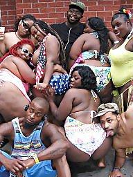 Ebony bbw, Bbw black, Party